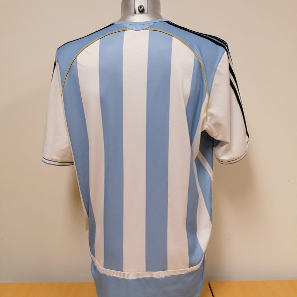 Vintage Argentina 2005 World Cup 2006 2007 home shirt adidas size XL (4)