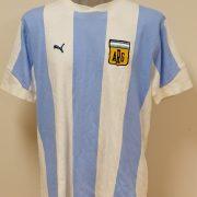 Vintage Argentina retro home shirt Puma cotton size XL (1)