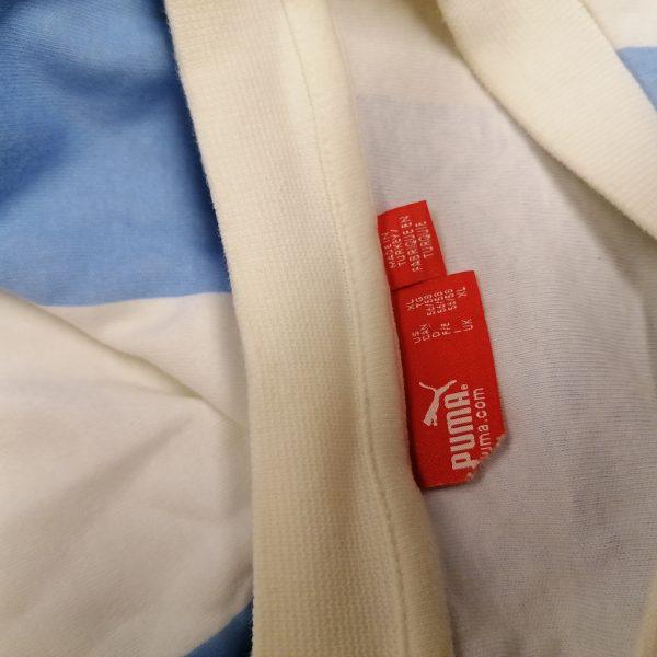 Vintage Argentina retro home shirt Puma cotton size XL (3)
