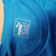 Vintage Arsenal blue Puma 2017 2018 training football top ls shirt size L (3)