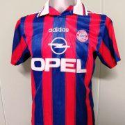 Vintage Bayern Munchen 1995 1996 1997 Home shirt adidas Zickler 21 size S (1)