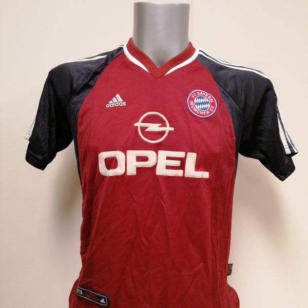 Vintage Bayern Munchen 2001 2002 home shirt size Boys L 164 adidas (2)