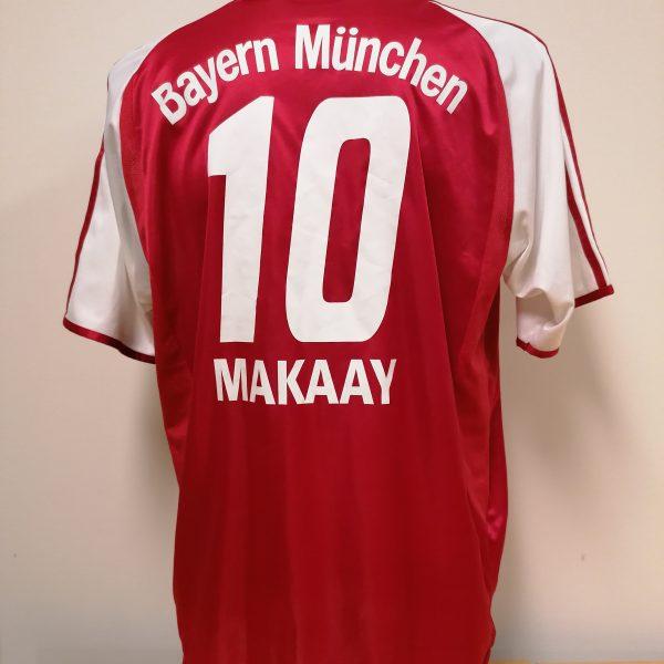 Vintage Bayern Munchen 2003 2004 home shirt adidas top Makaay 10 size L (1)