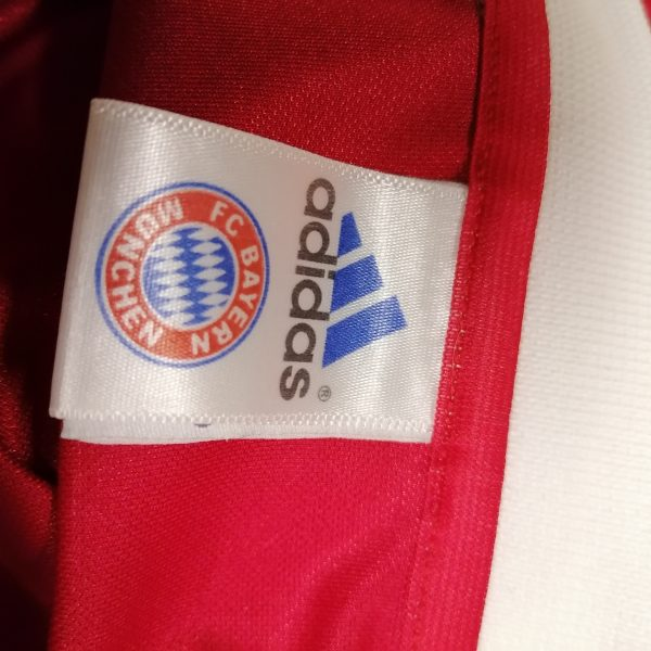 Vintage Bayern Munchen 2003 2004 home shirt adidas top Makaay 10 size L (3)