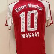 Vintage Bayern Munchen 2003 2004 home shirt adidas top Makaay 10 size M (1)