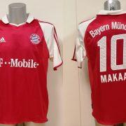 Vintage Bayern Munchen 2003 2004 home shirt adidas top Makaay 10 size M