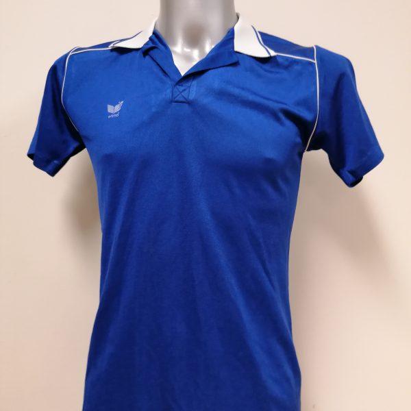 Vintage Erima 1970ies blue football shirt #7 size M (1)