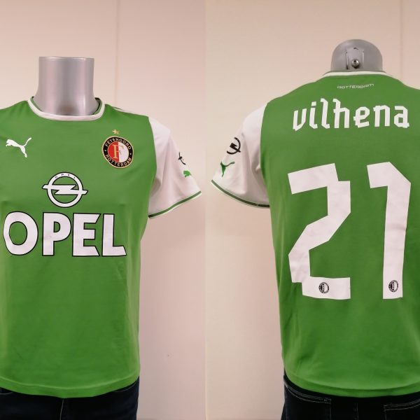 Vintage Feyenoord 2013 2014 away shirt Puma Vilhena 21 jersey size YXL164 14Y (1)