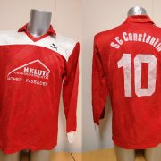 Vintage Puma 1980ies red german amateur football shirt #10 size XL