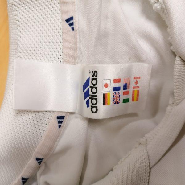 Vintage Real Madrid 2001 home shirt adidas football top size XL (2)