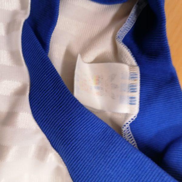 Vintage adidas 1970ies 1980ies blue football shirt #2 size M (3)