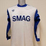 Vintage adidas 1970ies 1980ies blue football shirt #2 size M (4)