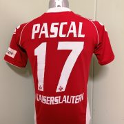 1FCK Kaiserslautern 2008 2009 home shirt Kappa football jersey #17 Pascal size S (1)