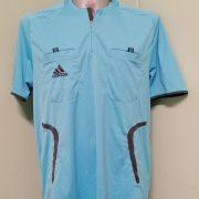 Adidas Formotion blue Referee shirt 2008 2009 jersey size L (1)