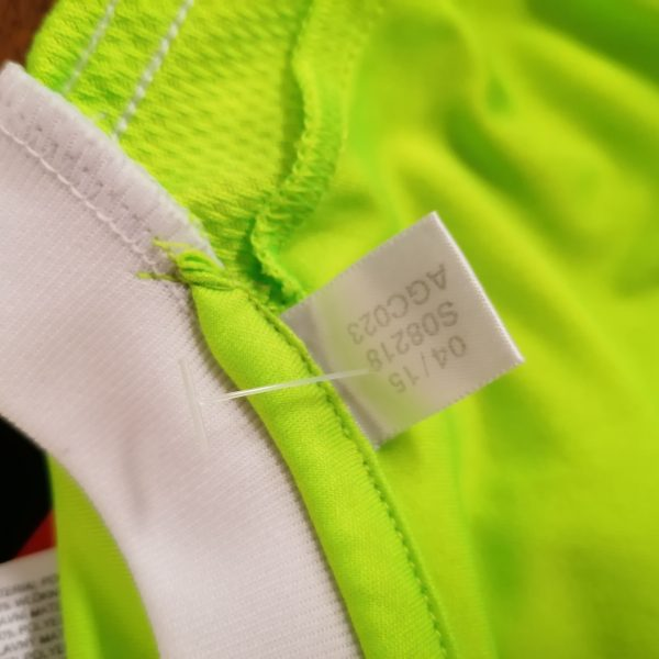 Ajax 2015 2016 away kit shorts shirt adidas size Boys L 152cm 11-12Y (3)