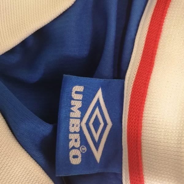 Dinamo Zagreb Croatia 1999 2000 home shirt umbro football top size XL (3)