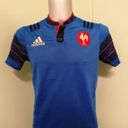 France Rugby 2015 home shirt adidas Jersey Maillot Size boys L 1314Y (1)