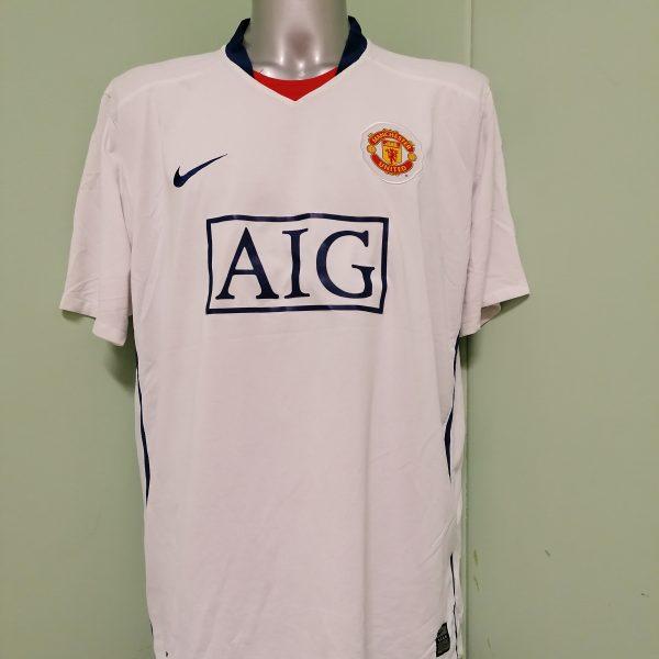 Manchester United 2008 2009 2010 away shirt Nike football top size XXL MINT (1)