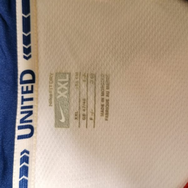 Manchester United 2008 2009 2010 away shirt Nike football top size XXL MINT (2)