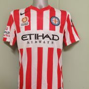 Melbourne City 2014 2015 home shirt Nike football jersey size M (1)