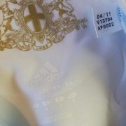 Player issue Techfit Olympique Marseille 2011 2012 home shirt adidas size M 8 (2)