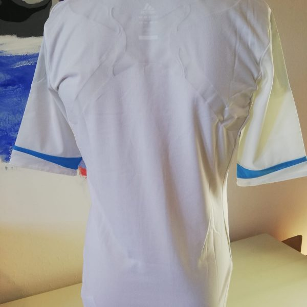 Player issue Techfit Olympique Marseille 2011 2012 home shirt adidas size M 8 (4)