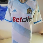 Player issue Techfit Olympique Marseille 2011 2012 home shirt adidas size M 8 (5)