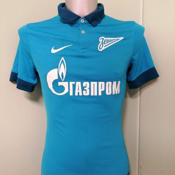 Player issue Zenit St Petersburg 2014 2015 home shirt Nike jersey Hulk 7 size S (1)