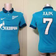 Player issue Zenit St Petersburg 2014 2015 home shirt Nike jersey Hulk 7 size S