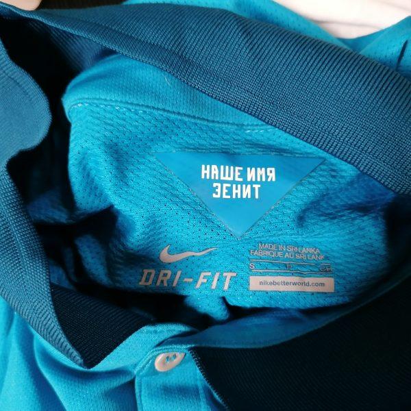 Player issue Zenit St Petersburg 2014 2015 home shirt Nike jersey Hulk 7 size S (2)