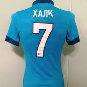 Player issue Zenit St Petersburg 2014 2015 home shirt Nike jersey Hulk 7 size S (5)