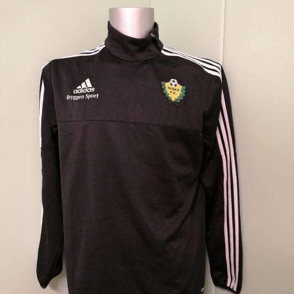 Riska FK black training jumper adidas sweater size L (1)