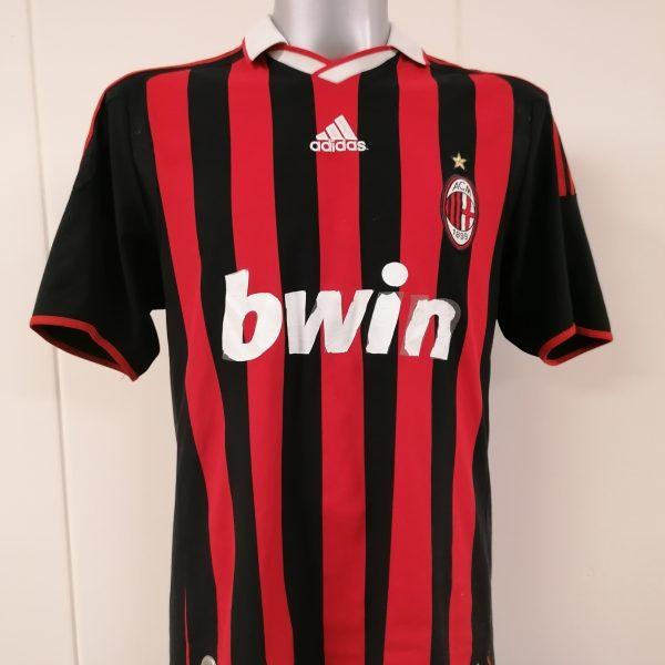 Vintage AC Milan 2009 2010 home shirt adidas Pirlo 21 size L (1)