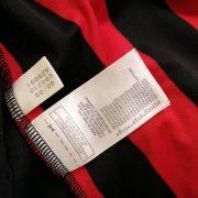 Vintage AC Milan 2009 2010 home shirt adidas Pirlo 21 size L (2)