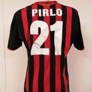 Vintage AC Milan 2009 2010 home shirt adidas Pirlo 21 size L (4)