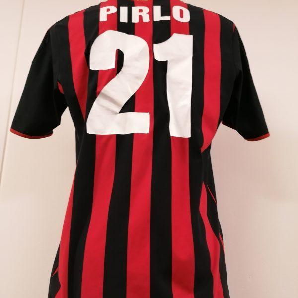 Vintage AC Milan 2009 2010 home shirt adidas Pirlo 21 size L (5)