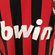 Vintage AC Milan 2009 2010 home shirt adidas Pirlo 21 size L (6)
