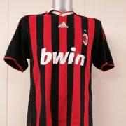 Vintage AC Milan 2009 2010 home shirt adidas Pirlo 21 size L (7)