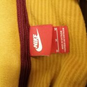 Vintage AS Roma beige polo shirt Nike football jersey size M (3)