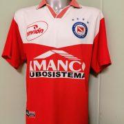 Vintage Argentinos Juniors 2001 2002 home shirt envion jersey #6 size L (4)