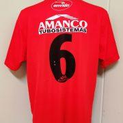 Vintage Argentinos Juniors 2001 2002 home shirt envion jersey #6 size L (6)