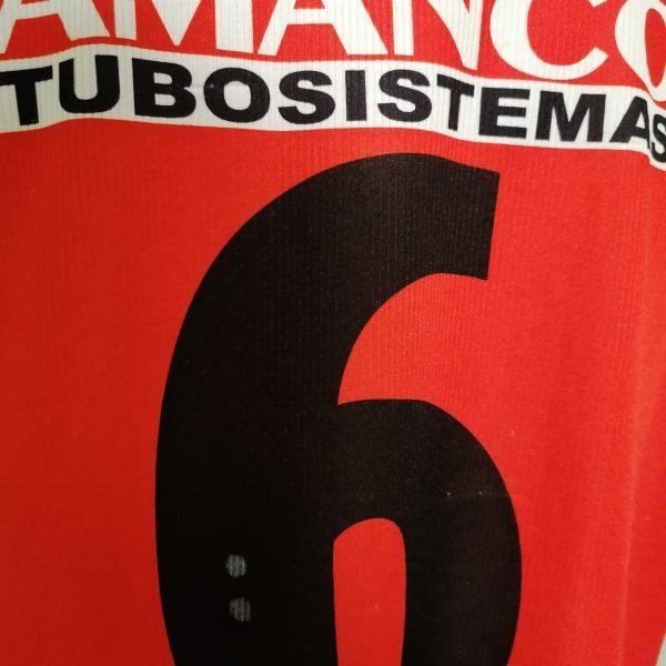 Vintage Argentinos Juniors 2001 2002 home shirt envion jersey #6 size L (7)
