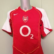 Vintage Arsenal 2004 2005 home shirt Nike football top size L (4)