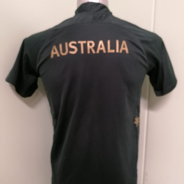 Vintage Australia 2008 one day cricket shirt adidas jersey size Boys L 14Y 160cm (4)