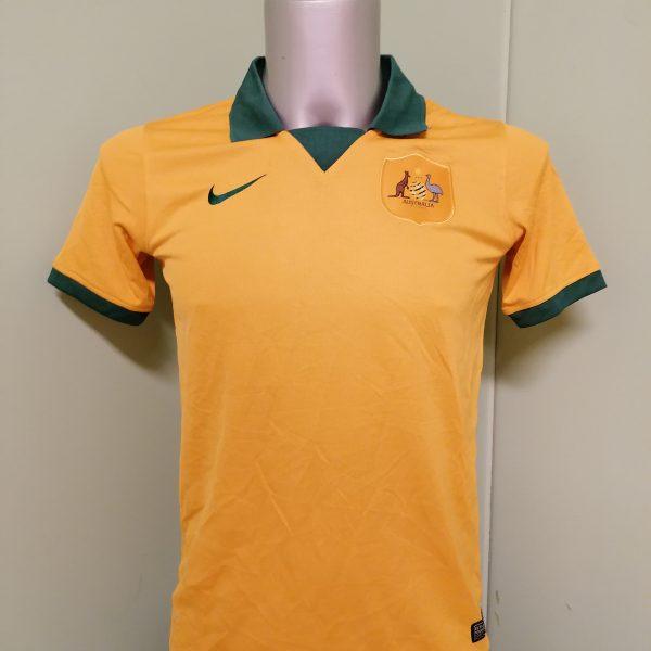 Vintage Australia World Cup 2014 2015 home shirt Nike jersey size Boys XL 16Y (1)