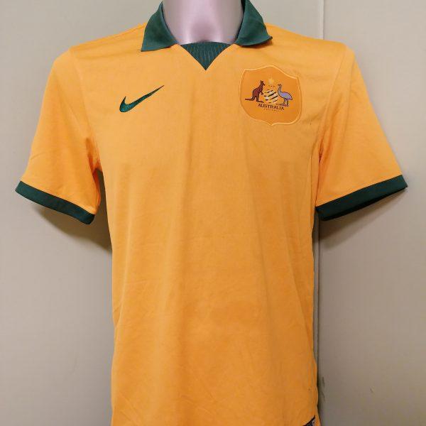 Vintage Australia World Cup 2014 2015 home shirt Nike jersey size M (1)