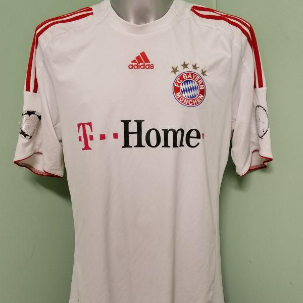Vintage Bayern Munchen 2008 2009 Champions league away shirt adidas size XL (1)