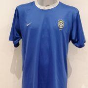 Vintage Brazil 2000 2001 2002 basic away shirt NIKE Brasil size L (1)