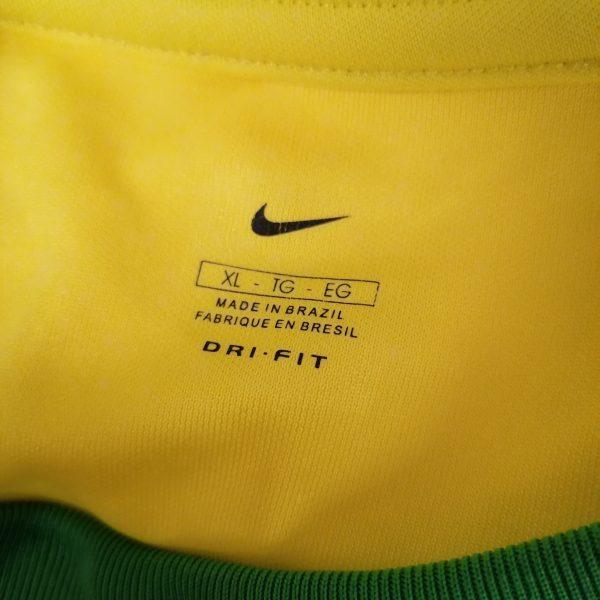 Vintage Brazil 2000 2001 2002 basic home shirt NIKE Brasil size XL (4)