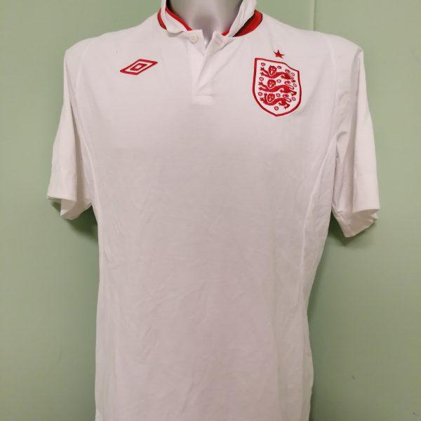 Vintage England EURO 2012 2013 home shirt Umbro jersey size L 44 (1)